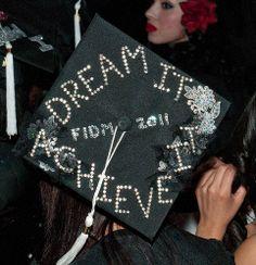 FIDM 2011 Graduation - Decorated Mortar Boards - Staples Center, Los Angeles, California | Flickr - Photo Sharing!