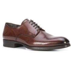 To Boot New York Buchanan oxford shoes (33.160 RUB) ❤ liked on Polyvore featuring men's fashion, men's shoes, mens brown leather shoes, oxford mens shoes, mens brown shoes, mens leather oxford shoes and to boot new york mens shoes