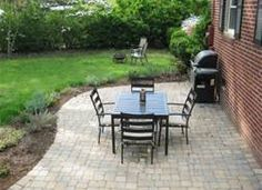Affordable Backyard Ideas 25 best railroad ties landscaping ideas on pinterest railroad ties railway ties and cheap swing sets Our 319 Patio Makeover Complete With Loungers A Fire Pit Small Backyard
