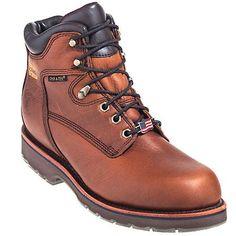 Chippewa Boots Men's USA-Made Waterproof Tan Work Boots 25220,    #ChippewaBoots,    #25220,    #Men'sWorkBoots