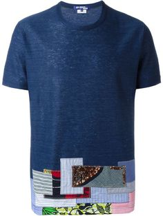 Junya Watanabe Comme Des Garçons Man patchwork T-shirt