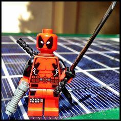 Lego Deadpool!! <3 I NEED THIS!