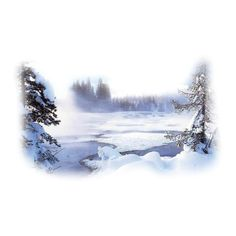 Tubes paysages hiver ❤ liked on Polyvore featuring winter, christmas, snow, backgrounds and tubes