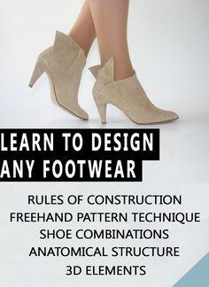 Como aprender a hacer zapatos de mujer