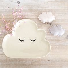 mommo design: LOVELY CLOUDS - cloud plate