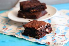 Flourless almond coconut brownies. I HAVE TO MAKE THESE!