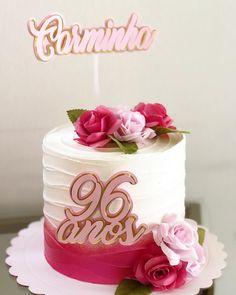 Fairy Birthday Cake, Birthday Cake Girls, Glitter Cake, Cake Decorating Techniques, Rose Cake, Floral Cake, Girl Cakes, Creative Cakes, How To Make Cake