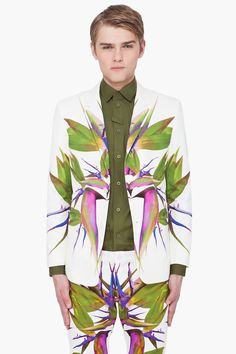 GIVENCHY BIRDS OF PARADISE BLAZER $4350.00 USD
