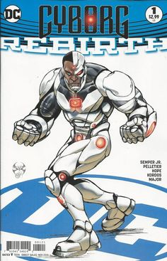 DC Cyborg Rebirth comic issue 1 Limited variant