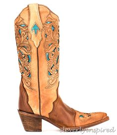 Who needs tattoos when you can sport a pair of these. I love these. Country Outfitter Boots