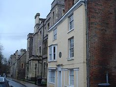 The house where Jane Austen lived in Winchester in the last few months of her life.
