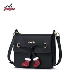48.13$  Buy here - http://ali4xl.shopchina.info/go.php?t=32804068743 - JUST STAR Women PU Leather Messenger Bags Ladies Christmas Socks Shoulder Purse Girl's Leisure Flap Small Crossbody Bags JZ4236  #magazine