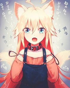 Ok..she is cute and pretty i admit that..even it's a lolicon kemonomimi (i don't understand if she is a inu or kitsune ^^')
