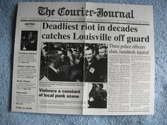 Deadliest Riot flyer May, 1995 | Flickr - Photo Sharing!