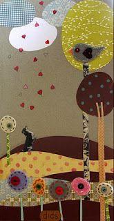 dids world Collage, Felt, Colours, Paper, Collages, Felting, Feltro, Collage Art, Colleges