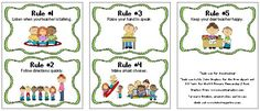 Back to School (and a classroom rules freebie)