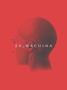 An alternate version of my Ex Machina poster.