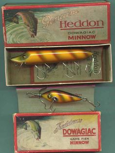 A guide to the most valuable antique fishing lures, with 350 photos covering 170 companies; how to navigate this antique fishing lures website.