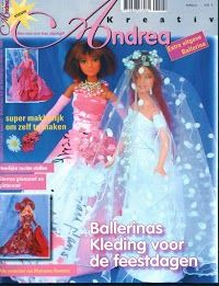Free Barbie Clothes Patterns - in a different language but has a multitude of beautiful outfits.