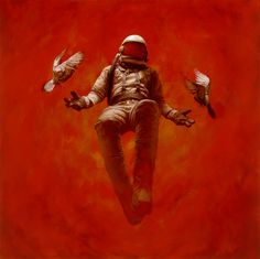 Hypostasis oil painting by Jeremy Geddes