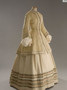 """The travel ensemble worn by Nicole Kidman in """"Cold Mountain"""".  Not a period dress, but an exquisite reproduction."""