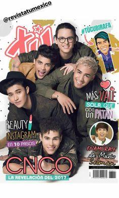 revista tu México CNCO❤❤ QUIEROOO!!!!