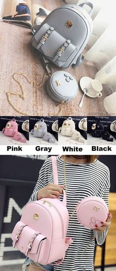 Which color do you like? Fresh Stereo Flowers Small Bag Gift Circular Mini Shoulder Bag PU Lady Backpack Source by bags Cute Mini Backpacks, Stylish Backpacks, Girl Backpacks, Lace Backpack, Backpack Bags, Diaper Backpack, Bags For Teens, Girls Bags, Small Bags
