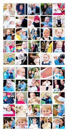 "Happy 3rd Birthday, Prince George Alexander Louis of Cambridge (b.July 22, 2013).♡ ""As you might have gathered, Catherine and I have recently become proud parents — of a baby who has a voice to match any lion's roar!"""