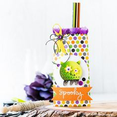 We are making spooky Halloween goody bags today on the Simon Says Stamp blog! Get the full how-to here!