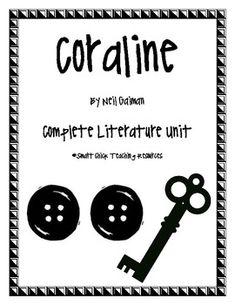Coraline Novel Study Bundle is a comprehensive literature