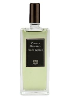 Vetiver Oriental  Eau de Parfum - Limited Release by  Serge Lutens - breathtakingly beautiful scent with dark, bitter chocolate notes