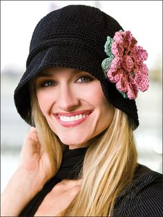 Crochet - Accessory Patterns - Hat, Gloves & Scarf Patterns - Fifth Avenue Hat