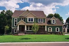 Browse nearly ready-made house plans to find your dream home today. Floor plans can be easily modified by our in-house designers. Country House Plans, Dream House Plans, House Floor Plans, My Dream Home, Dream Homes, Dream Life, Cottage Style Homes, Cottage House, Story House