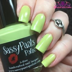 Sassy Pants Polish Coconut Lime ~ Ice Cream Social Collection