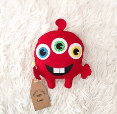 Funny monster. by HandMadeByMMartynova on Etsy