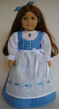 """Fits American Girl 18"""" doll clothes Austria Austrian dress C (COSTUME ONLY)"""