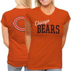 Chicago Bears Ladies Game Day T-Shirt - Orange