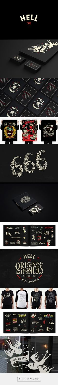 Hell Pizza on Behance... - a grouped images picture - Pin Them All