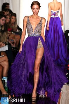 Sherri Hill - Dresses Wow see the purple out of the other colors..interesting