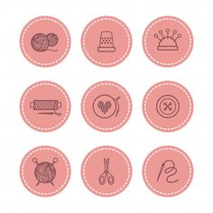 Handmade and sewing badges set vector illustration royalty-free handmade and sewing badges set vector illustration stock vector art & more images of embroidery Sewing Clipart, Film Photography Tips, Crochet Patron, Sword Design, Flower Phone Wallpaper, Kids Icon, Diy Friendship Bracelets Patterns, Elegant Business Cards, Instagram Highlight Icons