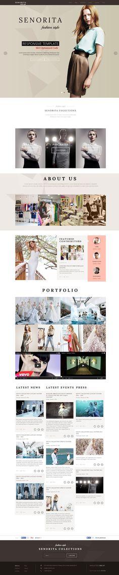 #fashion, #layout, minimalist