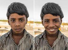 Ce photographe capture les sourires de parfaits inconnus