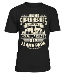 SUPERHEROES PAPÁ TIEMPO LIMITADO! - T-shirt