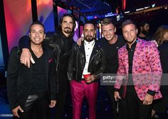 Recording artists Howie Dorough, Kevin Richardson, A. J. McLean, Nick Carter, and Brian Littrell of music group Backstreet Boys attends the 2016 iHeartRadio Music Festival at T-Mobile Arena on September 24, 2016 in Las Vegas, Nevada.