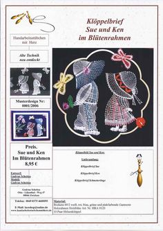 Web Pics and Patterns – Blanca Torres – Webová alba Picasa Crewel Embroidery, Embroidery Designs, Web Pics, Bobbin Lacemaking, Bobbin Lace Patterns, Lace Heart, Lace Jewelry, Lace Making, String Art