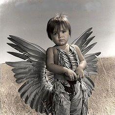 Native American Child- beautiful
