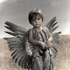 Native American Child- beautiful