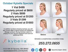 October Kybella Specials
