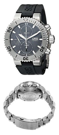 Scuba Watch, Oris Aquis, Swiss Watch, Toys For Boys, Chronograph, Rolex Watches, Accessories, Style, Clocks