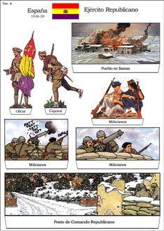 Loading Image Army Uniform, Military Diorama, World War One, Warfare, Trading Cards, Art Boards, Paper Dolls, Wwii, Spanish